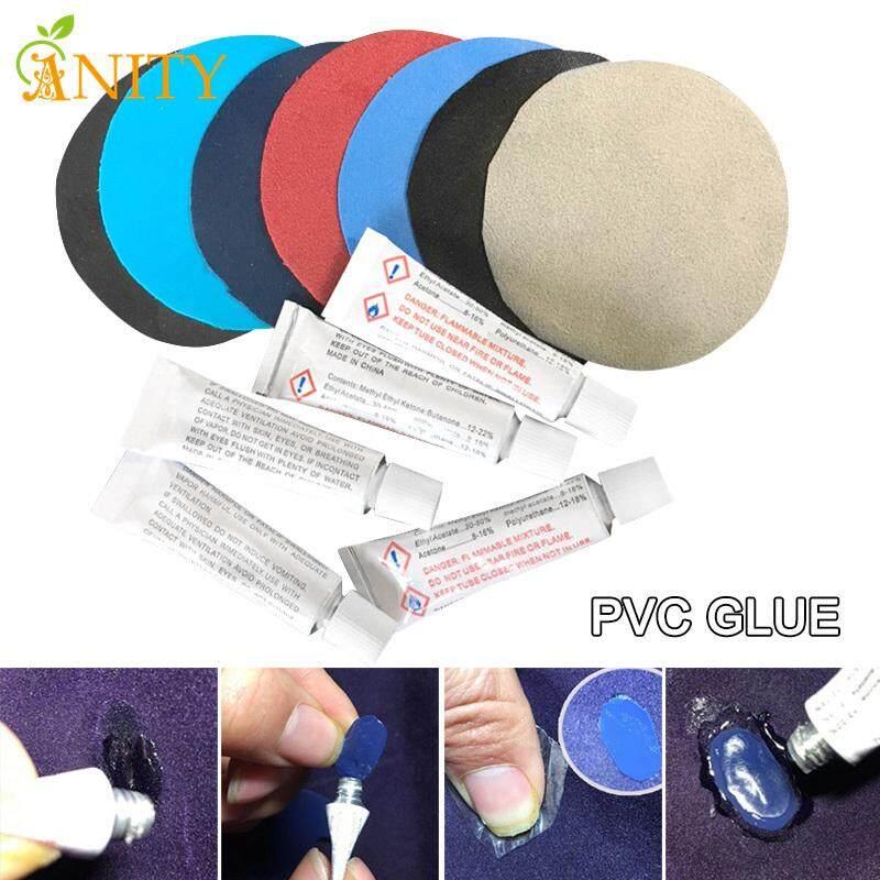 Anity 10 Chiếc Keo Dán Nhựa PVC Cho Đệm Bơm Hơi Không Giường Thuyền Sofa Bộ Dụng Cụ Sửa Chữa Miếng Dán Keo
