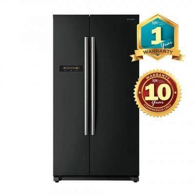 Daewoo Refrigerator FPN-X622BB (608L) Side By Side Fridge