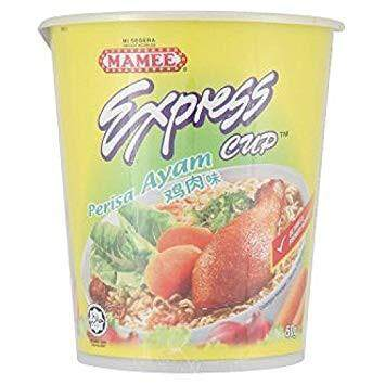 Mamee Instant Express Cup Noodle Chicken 60g
