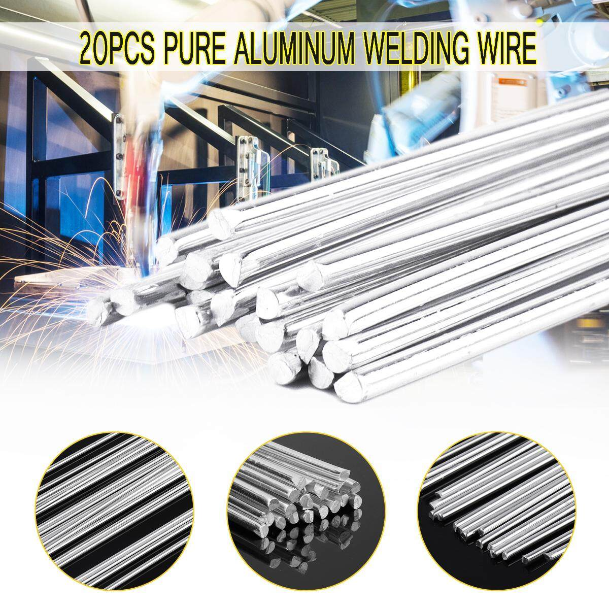 【Free Shipping + Flash Deal】20PCS Low Temperature Aluminum Welding Wire Rod 2.0x500mm No Need Solder Powder