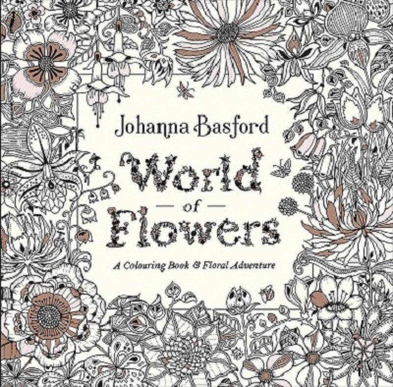 World of Flowers: A Coloring Book and Floral Adventure Malaysia