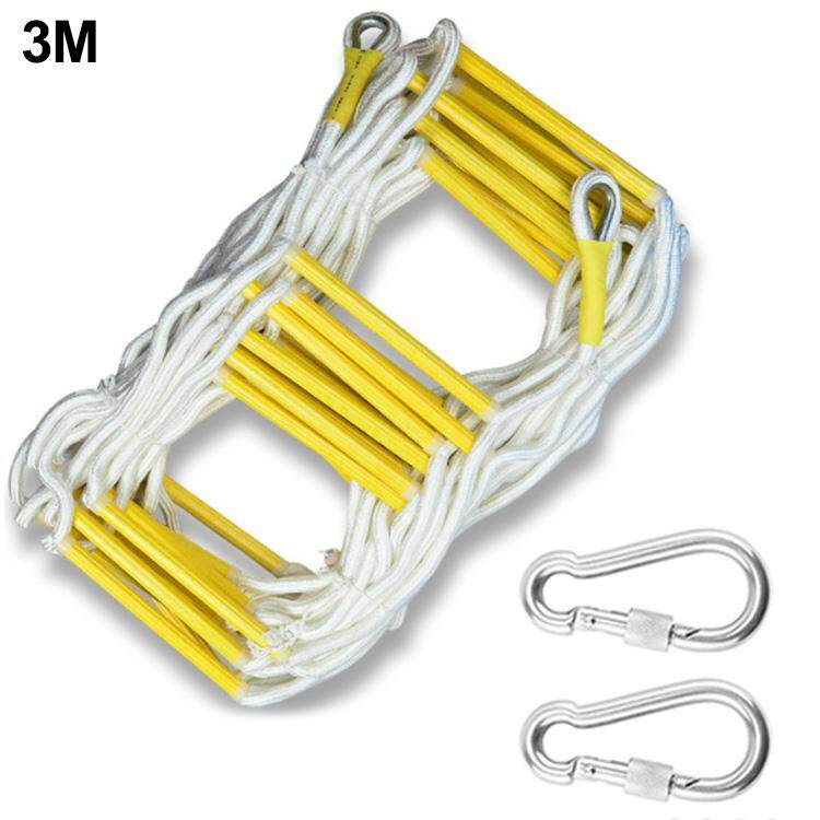 Rope Ladder Escape Ladder Home Lifeline Ladder Outdoor Round Nylon Soft Ladder Home Climbing Engineering Ladder