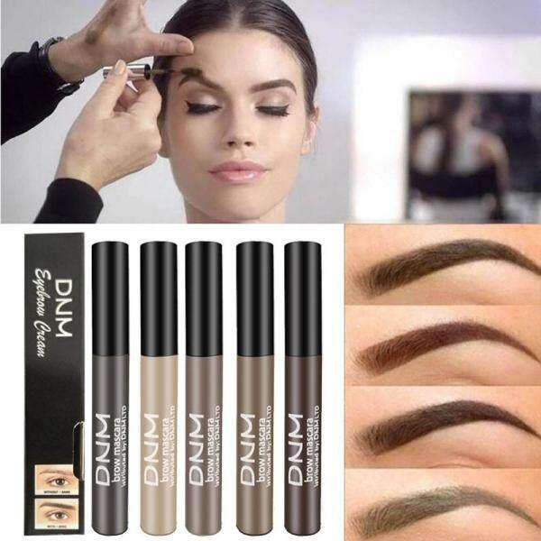 DNM Không Thấm Nước Lông Mày Gel Cà Phê Đen Nâu Lông Mày Gel Sơn Lông Mày Tint Mascara Kit Eye Brow Công Cụ Trang Điểm