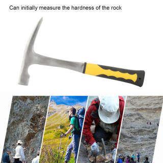 Búa Địa Chất Khảo Sát Địa Chất Miệng Phẳng Hai Đầu Búa Đào Gạch (Đầu Búa 500G) thumbnail