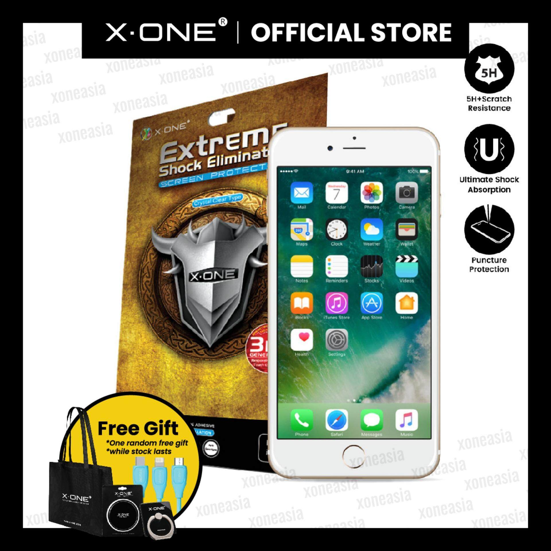 ccd67180d6f X.One® Extreme Shock Eliminator screen protector for iPhone 6/6S Plus