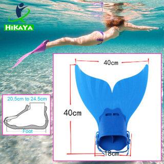Vây Bơi HIKAYA Nàng Tiên Cá Có Thể Điều Chỉnh Để Tập Bơi Cho Bé Gái Trẻ Em thumbnail