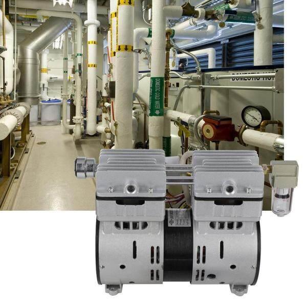 220V 600W Oilless Piston Vacuum Pump 680mmHg/-90.6kpa 120L/min High Flow Air Pump