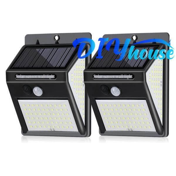 Năng Lượng Mặt Trời Ánh Sáng, 140 LED Cảm Biến Chuyển Động PIR 3 Chế Độ Chống Nước Đối Với Ngoài Trời Vườn