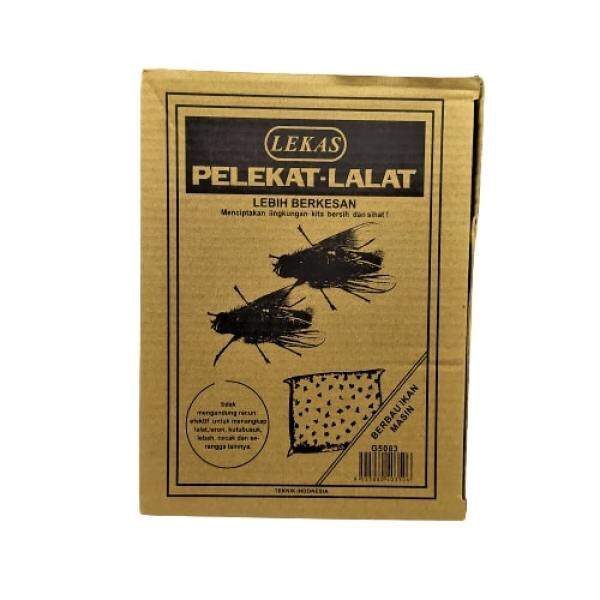 Pelekat Lalat Sticky Fly Tape Kuat Gam Lalat Flies Trap  Fly Lure(10pieces X10 Pack For Box)