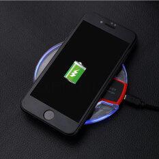 Đế Sạc Nhanh Không Dây Qi, Đèn LED Sạc Nhanh Không Dây Cho Samsung iPhone Lumia LG HTC
