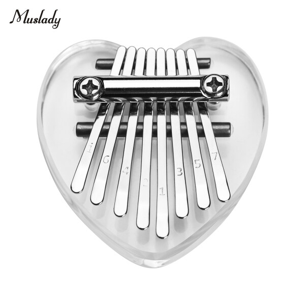 Muslady Kalimba 8 Keys Thumb Piano Mini Portable Kalimba Musical Instrument for Adults Kids Malaysia