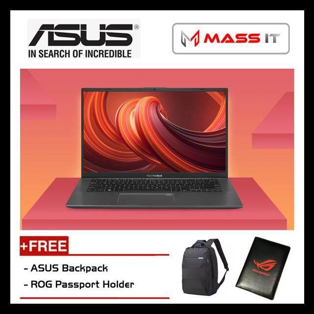 ASUS A412D-AEK154T VivoBook Slate Grey (R5-3500U/Vega 8/4GB D4/256GB M.2 SSD/14.0 FHD/WIN10/2 Years Warranty) Malaysia