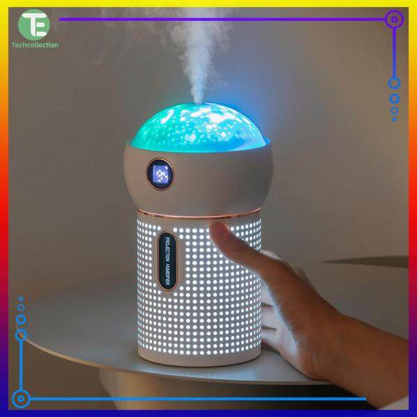 Indoor Air-Conditioning Room Mini Small Night Light White/Pink Bedroom Atomization Sprayer Singapore
