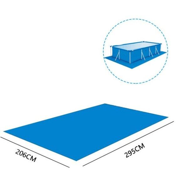 Swimming Pool Cover Swimming Pool Ground Mat high-quality UV-resistant PE Rainproof Dust Cover Mat Swimming Pool Accessories