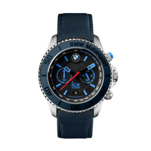 Ice-Watch BMW Motorsport Steel Chrono - Dark & Light Blue (Extra Large) Malaysia