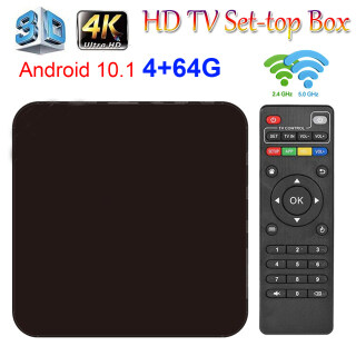 MXQPRO 4GB 64GB Android 10.1 TV BOX 2 Băng Tần 3D Điện Áp Rộng 2.4G + 5G WIFI 4K HDR Pulierde Đầu Phát Android Lõi Tứ Media Player IPTV thumbnail