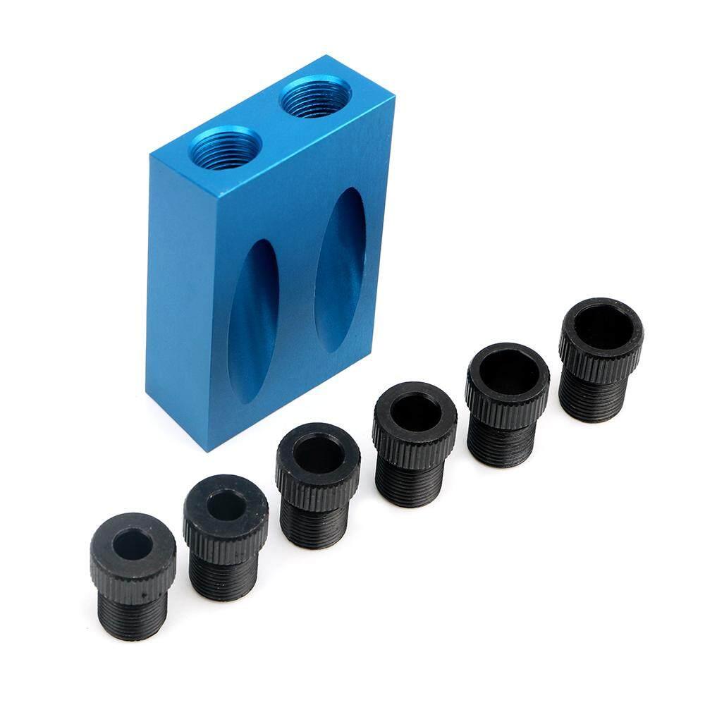 DIYWORK Gỗ Làm Nghề Mộc Dụng Cụ 6/8/10mm Khoan Gỗ Mũi Phụ Kiện Nội Thất Đấm Puncher xiên Lỗ Định Vị Bỏ Túi Lỗ Jig Bộ Hệ Thống