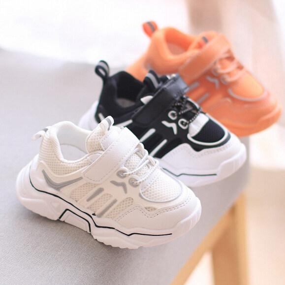 Giày Thể Thao Lưới Cho Trẻ Em Giày Đi Bộ Mới 2020 Dành Cho Bé Trai Bé Gái Giày Cho Bé Tập Đi Đế Mềm Thường Ngày Trọng Lượng Nhẹ 1-2-3 Tuổi giá rẻ