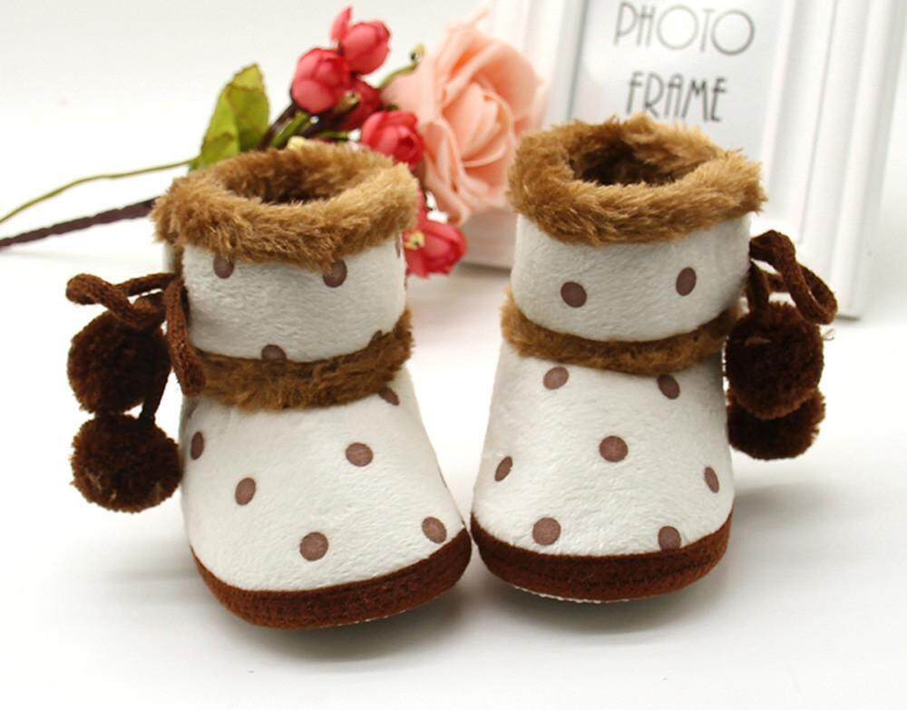 207353404 RADOCIE Baby Girls Boys Soft Booties Snow Boots Infant Toddler Newborn  Warming Shoes