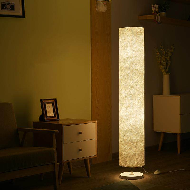 Soft Floor Lamp LED Creative Personality Living Room Bedroom Continental Folding