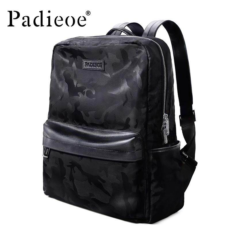 Padieoe Men Backpacks Casual Canvas Backpacks 2019 Design Fashion Casual Men  Youth Backpack Large Capacity Waterproof 1e8bff1a6e77a