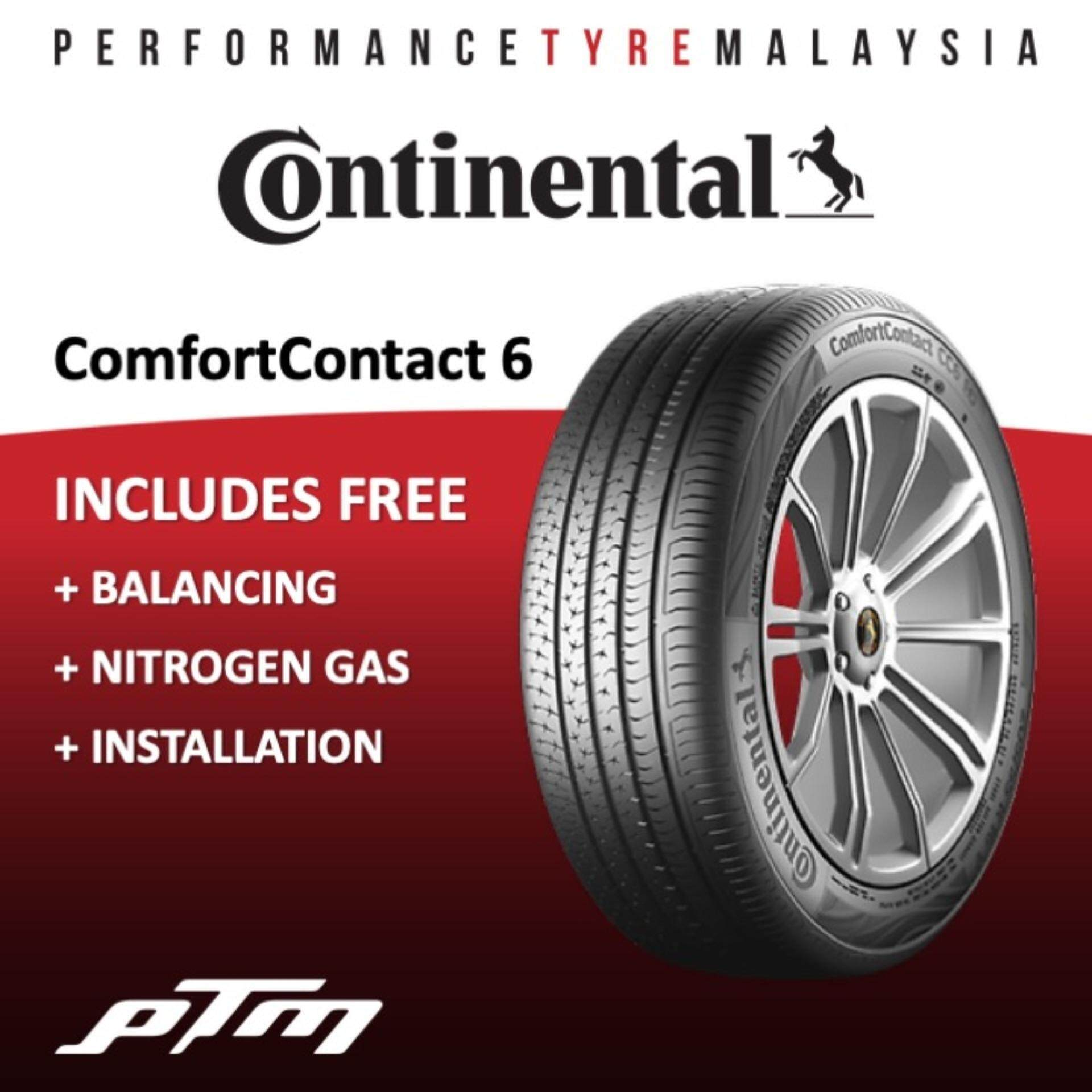 Continental Comfort Contact 6 Cc6 175/65r14 Tyre Myvi, Axia, Iriz, Bezza (free Installation) Tayar Tire By Performance Tyre Malaysia Ptm.