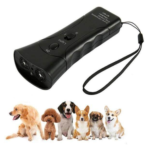 Chống Sủa 3 Trong 1 Chống Sủa Bark Dừng Deterrents Thiết Bị Đuổi Chó Bằng Đèn LED Siêu Âm, Thiết Bị Tập Luyện Kiểm Soát Kèn Trumpet Con Chó Chó Chống Sủa Thiết Bị Huấn Luyện Kiểm Soát Xua Đuổi Tiếng Sủa