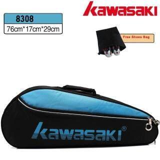 Kawasaki Cầu Lông Túi Vợt Bóng Quần Vợt Một Vai Chống Nước Thể Thao Túi Có Thể Chứa 3 Vợt Với Túi Giày Người Đàn Ông thumbnail