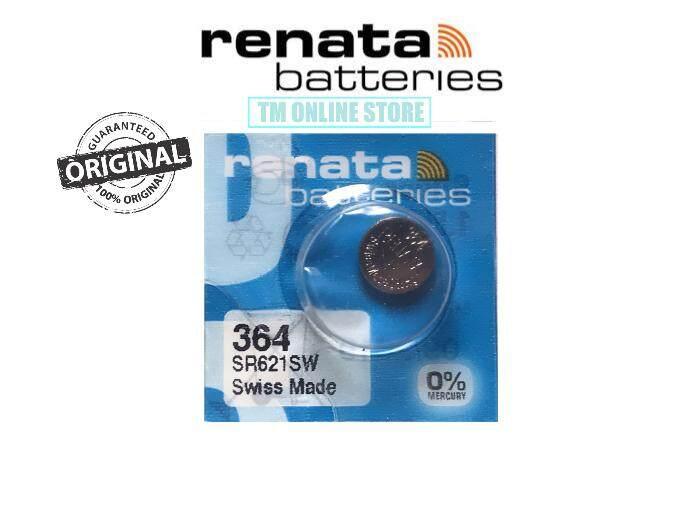 SR621SW 364 ORIGINAL RENATA BATTERY SWISS Malaysia