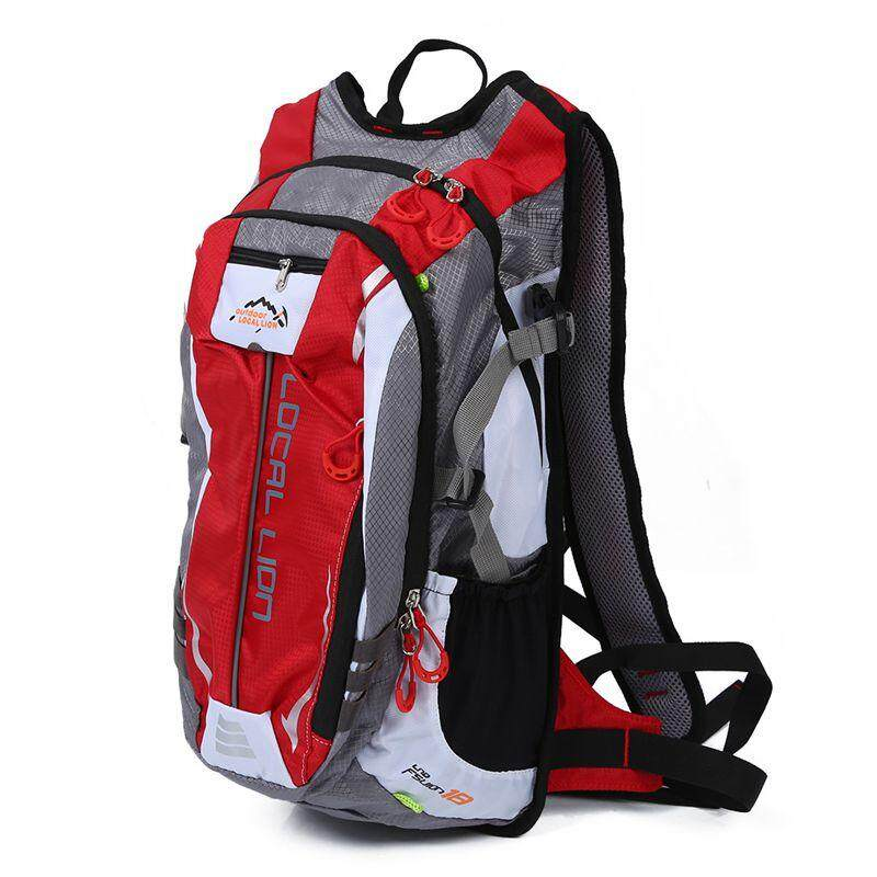 Local Lion 18l Red Waterproof Backpack Ultralight Outdoor Bicycle Cycling Bike Backpacks Travel Mountaineering Bag By Jusumall.