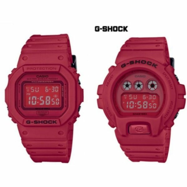Casio G style Shock Red out Dw6900/3230 Polis Evo Malaysia