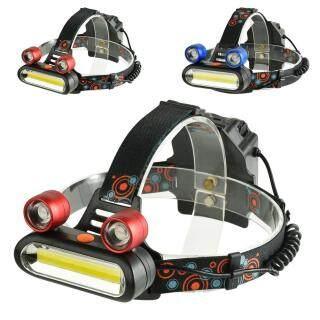Đèn Pha COB 8000 LM 2 LED + Đèn Pin Sạc 4 Chế Độ, Đèn Pha Led Cắm Trại thumbnail