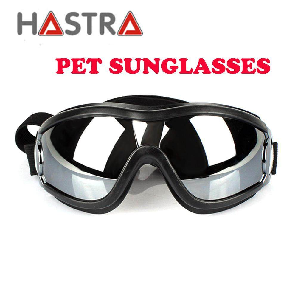 4ba5936541268 Hastra Dog UV Goggles Waterproof Windproof Pet Sunglasses With Adjustable  Strap Protection Sun Glasses For Large