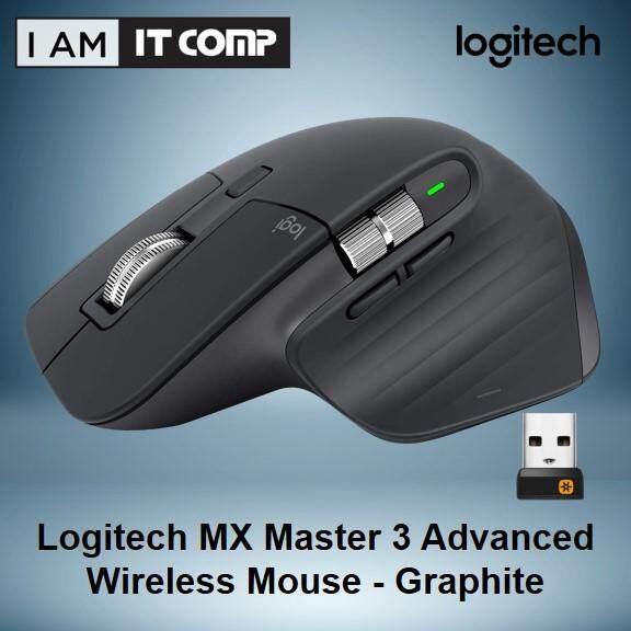 Logitech MX Master 3 Advanced Wireless Mouse - Graphite (910-005698) Malaysia