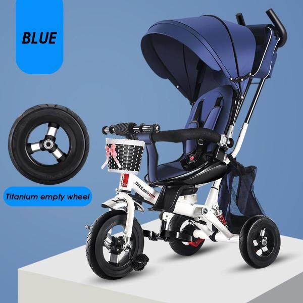 Smart Design 4 In 1 Children Tricycle Kid Baby Trike 3 Wheels Bike With Handle Singapore