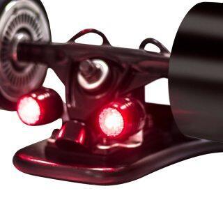 Koowheel 4 Cái Đèn LED Trượt Ván Đèn An Toàn Cảnh Báo Ban Đêm, Ván Trượt Dài 4 Bánh thumbnail
