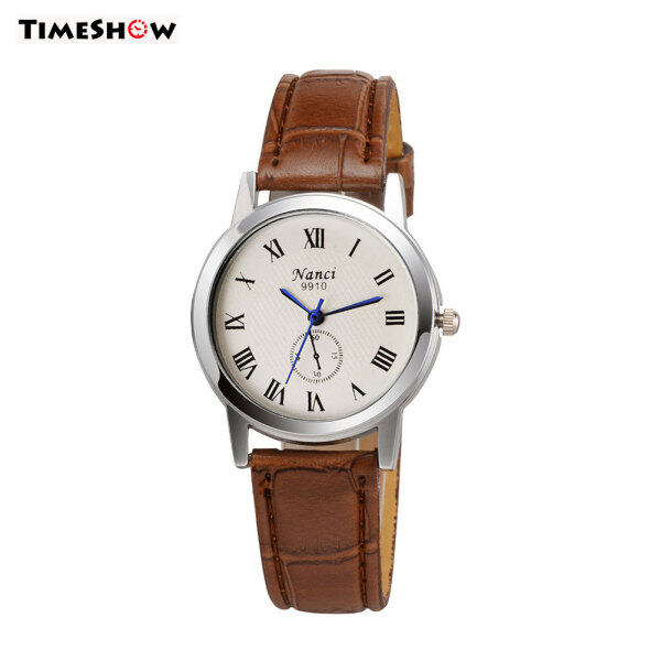 TimeShow Simple Watch Roman Numerals Pattern Watch With Delicate Quartz Dial Wrist Watch Malaysia