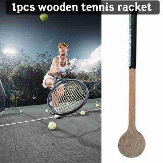 Muỗng Tennis Bằng Gỗ Quần Vợt Bằng Gỗ Vợt thumbnail