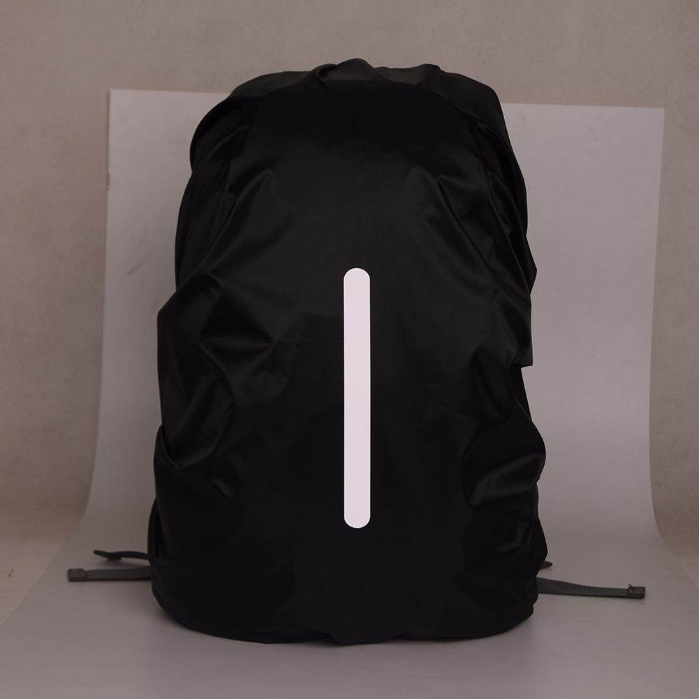 China. 18-25L Adjustable Waterproof Dustproof Backpack Rain Cover Night Safety  Reflective Bag Rain Cover Portable e3924d72b0814