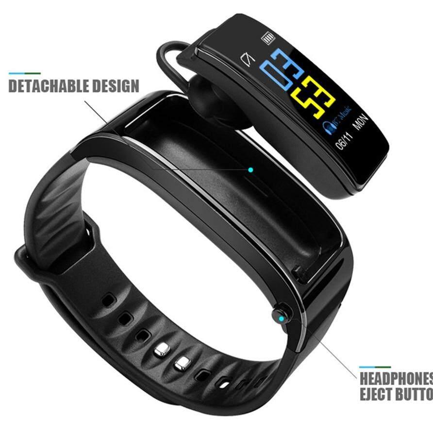 J-ZTONG Color Bluetooth Talkband Headset Talk Smart Band Bracelet Sports  Smart Watch Passometer Fitness Tracker Wristband