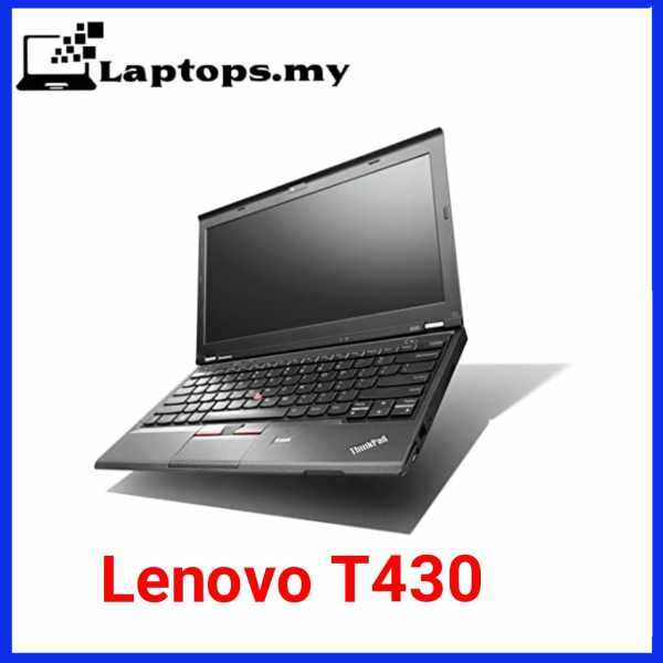 Lenovo thinkpad T430 14 inch HD Display / Core i5-2520M / 4 GB RAM / 128GB SSD / Intel HD Graphics 3000 / Windows 10 pro / Great product for work from home and study online (Used nice condition) Malaysia