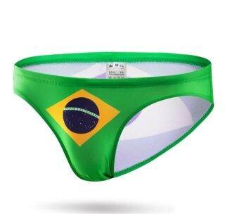 Đồ Bơi In Cờ Gợi Cảm Quần Bơi Nam Quần Soóc Đi Biển Đồ Bơi Nam Brazil Dáng Ngắn Sunga Bơi Quần Short Spa Tắm Phù Hợp Với Kích Thước Nhỏ thumbnail