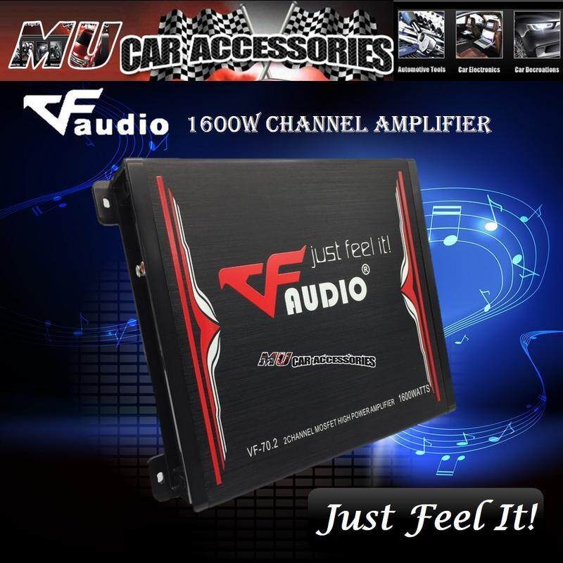 VF Audio VF-70 2 2 Channel Car Amplifier Mosfet High Performance Power  Amplifier Car Audio System (1600 Watts)