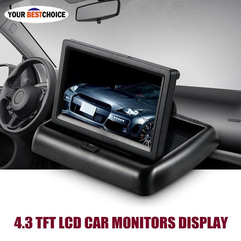 YBC MÀN HÌNH 4.3 TFT LCD Giám Sát Ô Tô Màn Hình Phía sau Màn Hình Màn Hình cho Xe Hơi Đảo Chiều Camera