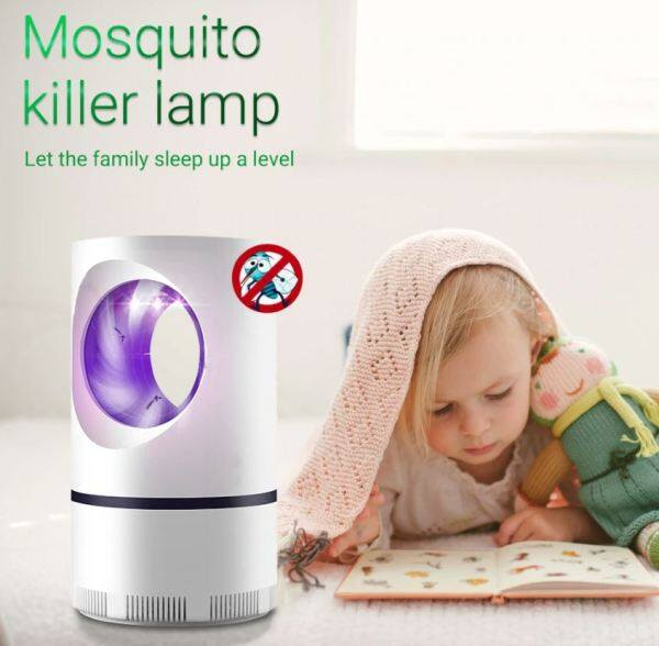 🔥READY STOCK🔥USB Powered Electric Photocatalytic Anti Mosquito Killer Lamp UV Bug Insect Trap Light Pest Control [F13]
