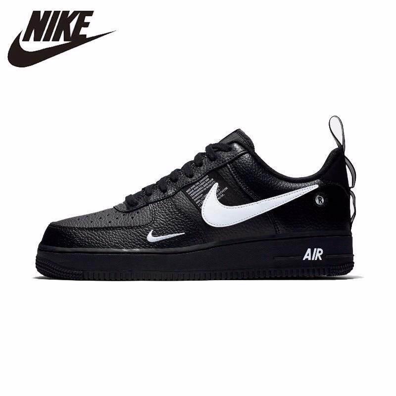 0c353a052b19c Singapore. Nike Air Force 1 07 LV8 Utility Pack Men s Skateboarding Shoes  Sneakers Athletic Designer Footwear Black
