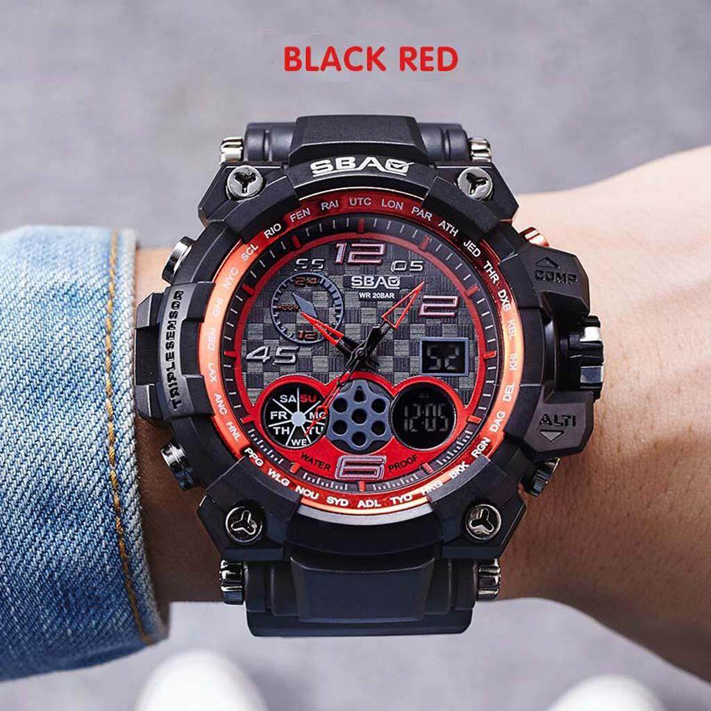 Sports Watches Womens Outdoor Sports Waterproof Calendar  Multi Function Electronic Watch Malaysia