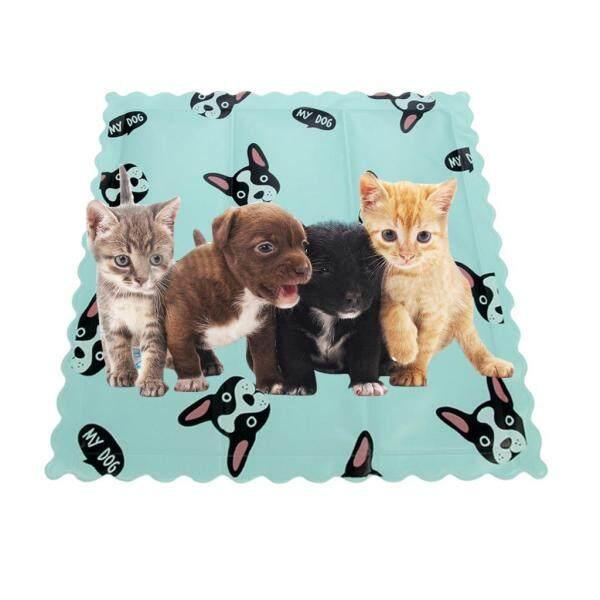80Ml Pet Mat Mèo Chó Băng Pad Cảm Giác Lạnh Băng Pad Mùa Hè Cũi Mat Sofa Đệm LX