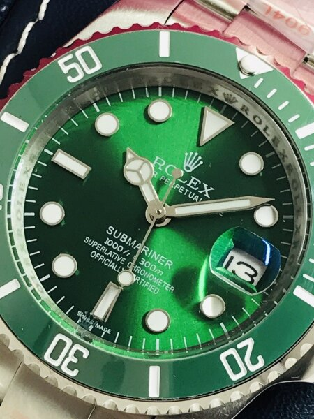 GREEN AUTOMATIC MAN WATCH (NEW SYOCK) Malaysia