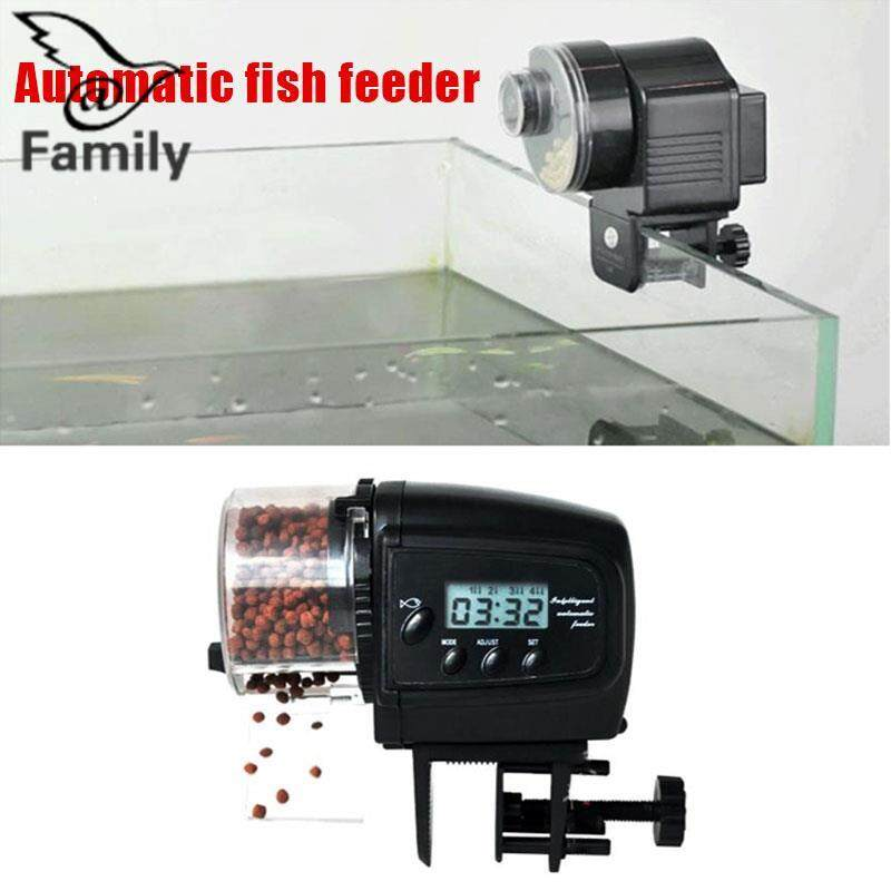 BigFamily Fish Food Feeder Flake Mini Shape Auto Tank Aquarium LCD Screen Malaysia